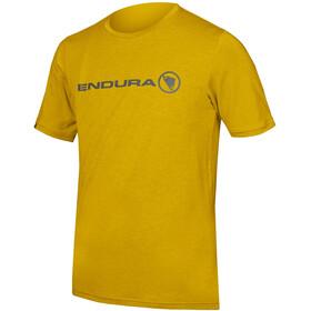 Endura SingleTrack Merino T-paita Miehet, mustard